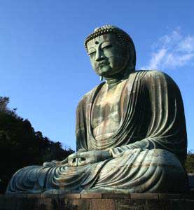 Daibutsu, Great Buddha in Kamakura, Japan