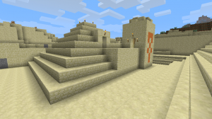 The Desert Temple.