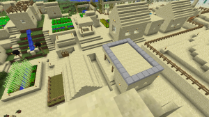 Desert Village (I need a new naming convention), from the top of the tower.